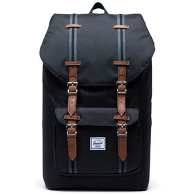 Herschel Little America Rugzak, black/black/tan